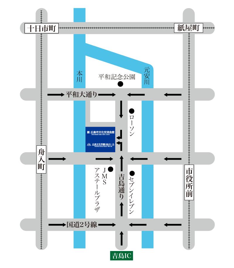 駐車場誘導マップ