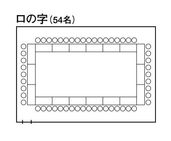 中会議室1「ルミエール」 - ロの字形式