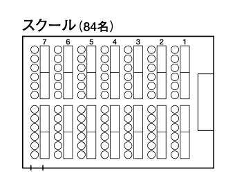 中会議室1「ルミエール」 - スクール形式