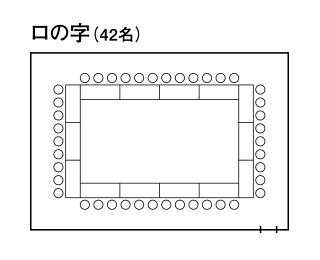中会議室3「プロヴァンス」 - ロの字形式
