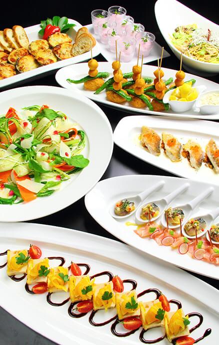 歓送迎会プラン 洋パーティープランの料理イメージ写真